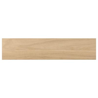 ENHET Lådfront för bänkskåp för ugn, ekmönstrad, 60x14 cm