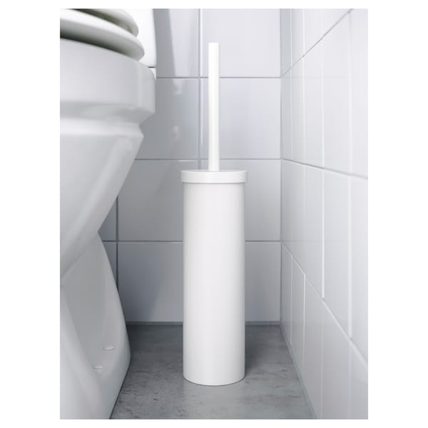 ENUDDEN Toalettborste, vit