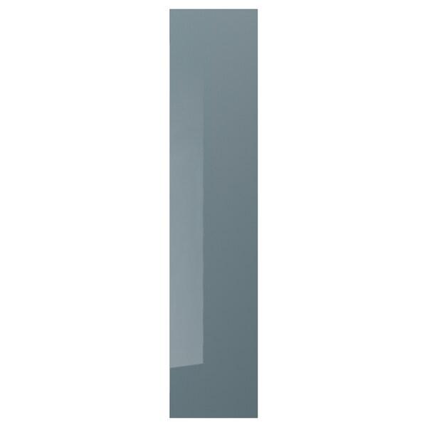 FARDAL Dörr, högglans gråturkos, 50x229 cm IKEA