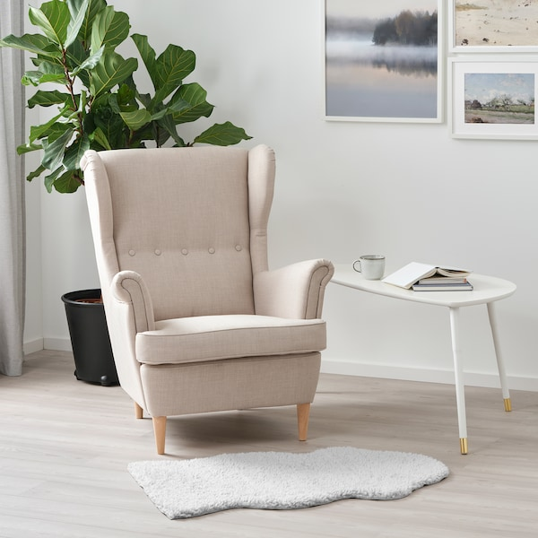FÅRDRUP Matta, grå, 60x100 cm