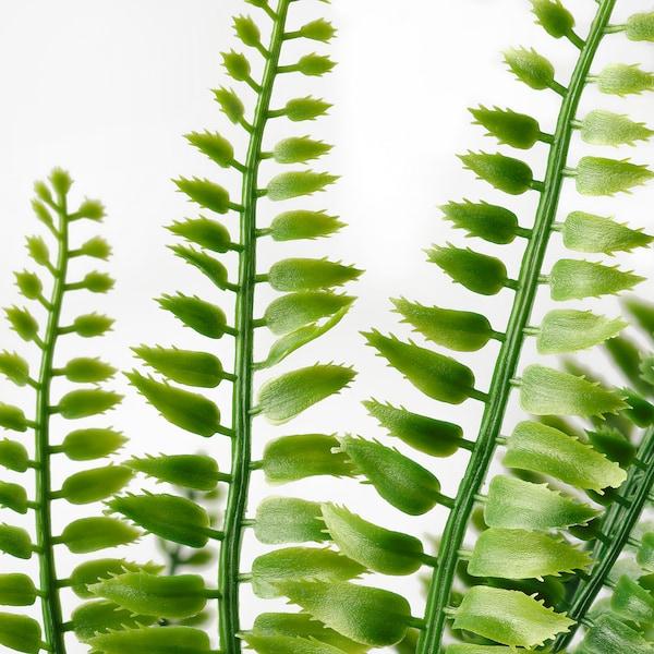 FEJKA konstgjord krukväxt inom-/utomhus ormbunke 9 cm 34 cm