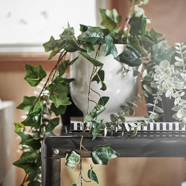 FEJKA Konstgjord krukväxt, inom-/utomhus/hängande Murgröna, 12 cm