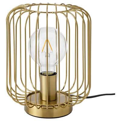 FLAGGSKEPP Bordslampa, förmässingad