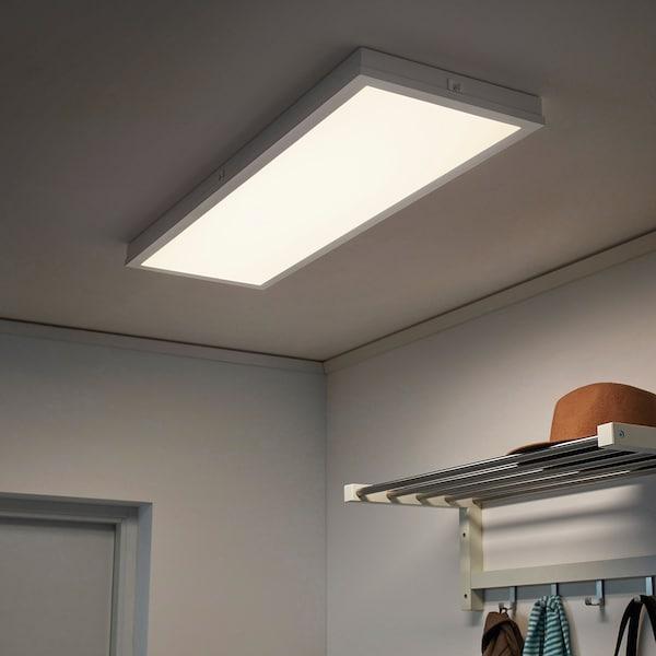 FLOALT LED ljuspanel, dimbar/vitt spektrum, 30x90 cm