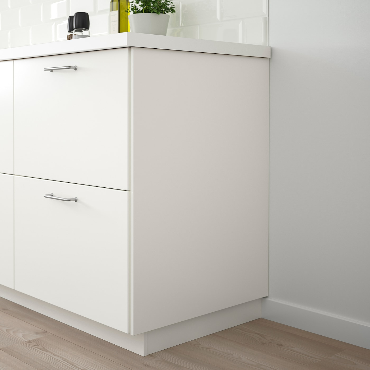 FÖRBÄTTRA Täcksida, vit, 62x80 cm IKEA