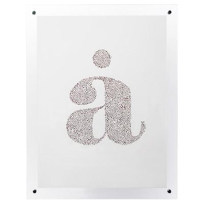 FORNBRO ram transparent 30 cm 40 cm 35 cm 45 cm