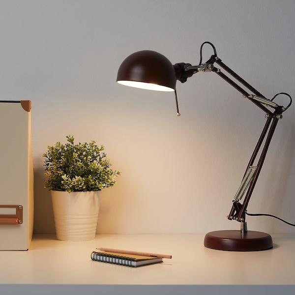 FORSÅ Arbetslampa, mörkröd
