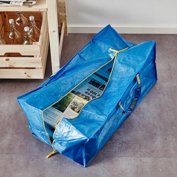 FRAKTA trunk för kärra blå 73 cm 35 cm 30 cm 25 kg 76 l