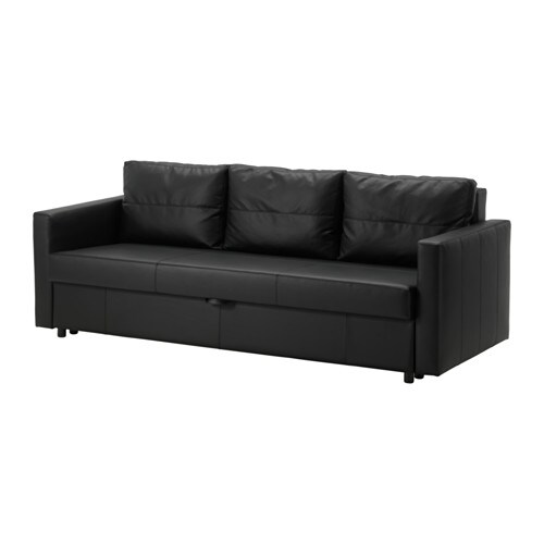 friheten 3 sits b ddsoffa bomstad svart ikea. Black Bedroom Furniture Sets. Home Design Ideas