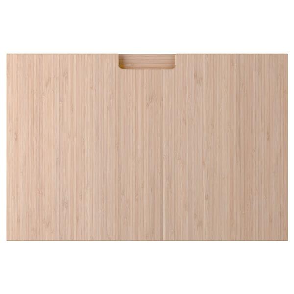 FRÖJERED Lådfront, ljus bambu, 60x40 cm