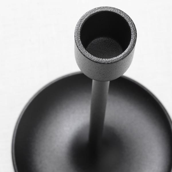 FULLTALIG Ljusstake set om 3, svart