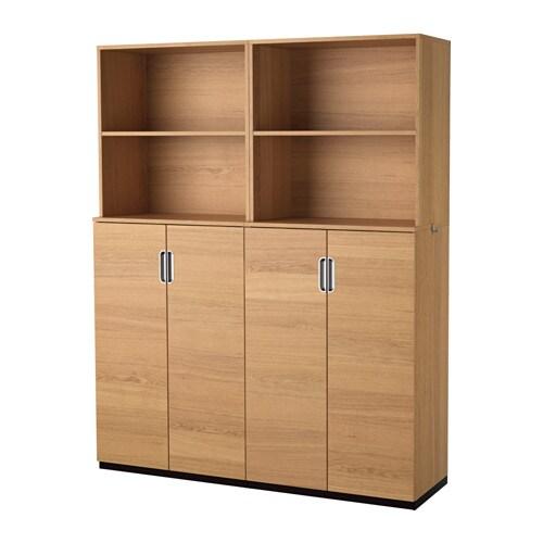 GALANT Förvaring med dörrar ekfaner IKEA