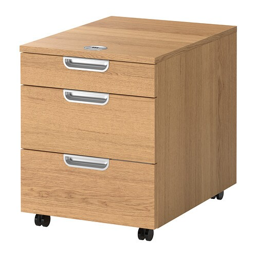 GALANT Lådhurts på hjul ekfaner IKEA