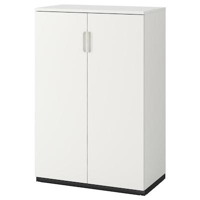 GALANT Skåp med dörrar, vit, 80x120 cm