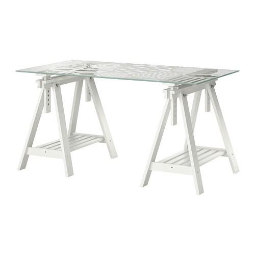 glasholm finnvard bord glas ggm nster vit ikea. Black Bedroom Furniture Sets. Home Design Ideas