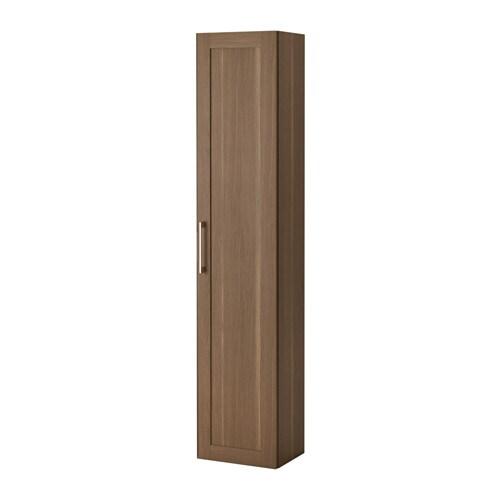 GODMORGON Högskåp valnötsmönstrad IKEA