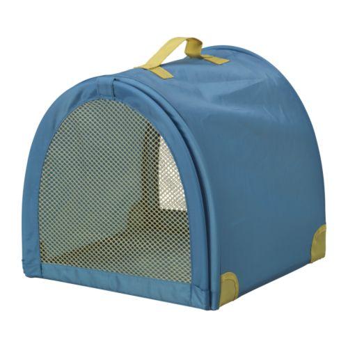 GOSIG Transportbur för mjukdjur blå/grön Bredd: 31 cm Djup: 31 cm Höjd: 30 cm