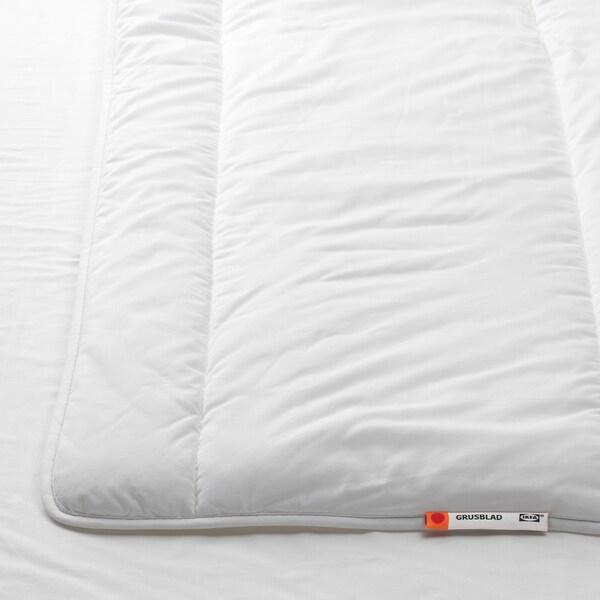 GRUSBLAD täcke, varmare 220 cm 240 cm 1480 g 2580 g