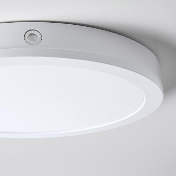 GUNNARP LED tak vägglampa, vit dimbar, vitt spektrum, 40 cm