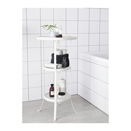 Gunnern pelarbord ikea for Table de toilette acrylique ikea