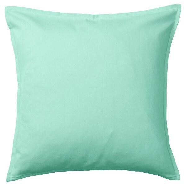 GURLI Kuddfodral, ljus turkosgrön, 50x50 cm