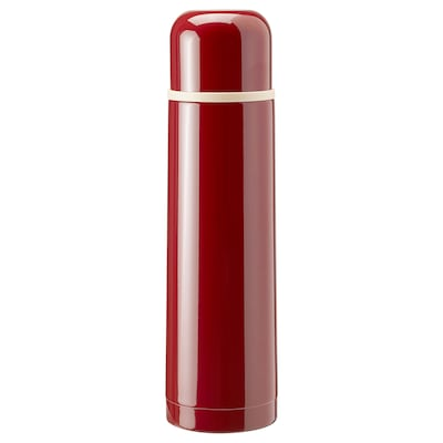 HÄLSA Ståltermos, röd, 0.5 l