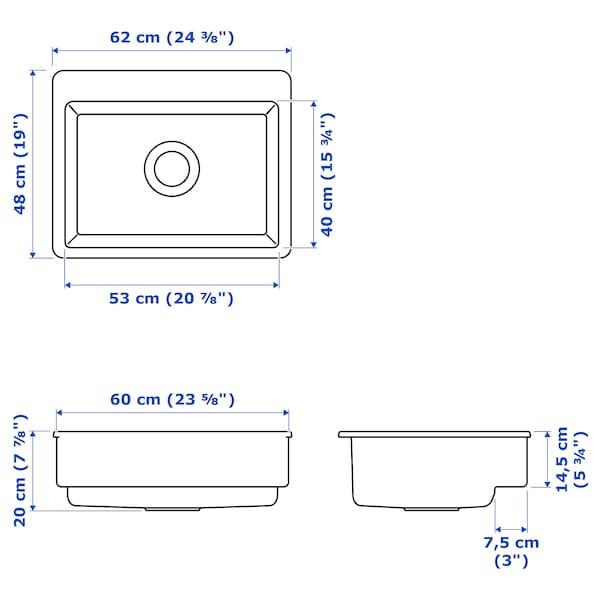 IKEA HAVSEN Diskho med synlig front