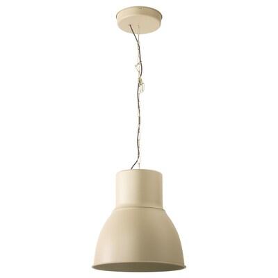 HEKTAR Taklampa, beige, 47 cm