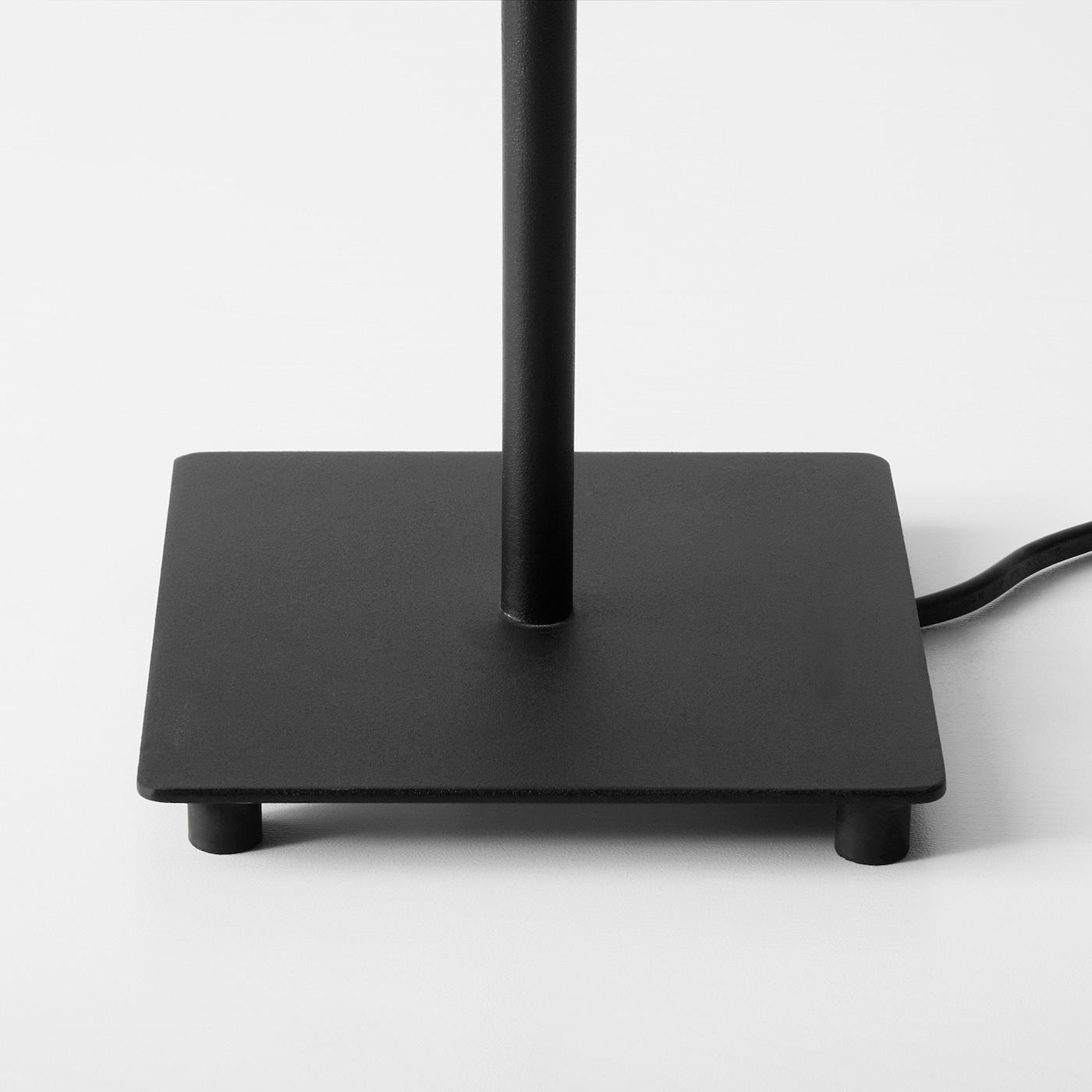 HEMMA Bordslampfot svart 35 cm