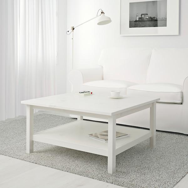 HEMNES Soffbord, vitbets, 90x90 cm