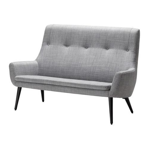 hemstan s 2 sits soffa h g rygg ikea. Black Bedroom Furniture Sets. Home Design Ideas