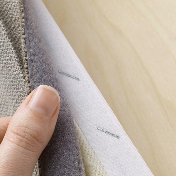 HENRIKSDAL Klädsel för stol, Nolhaga gråbeige IKEA