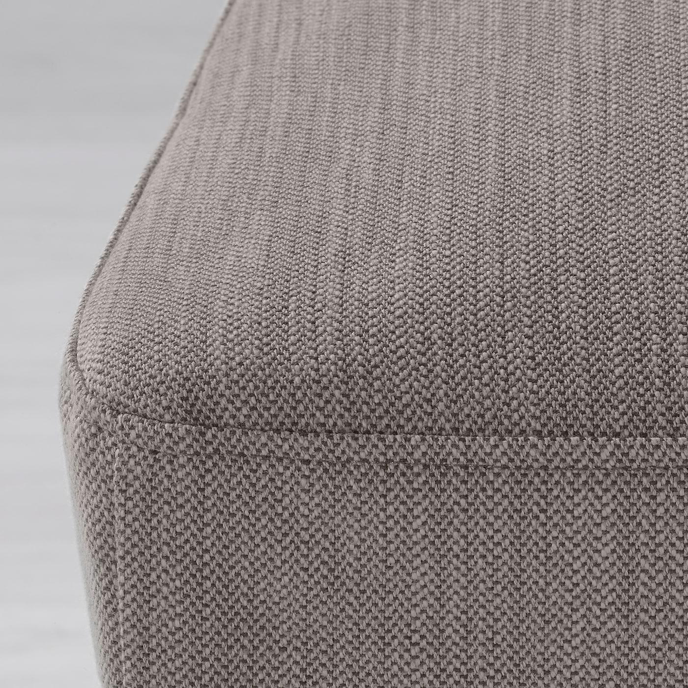 HENRIKSDAL Klädsel för stol Nolhaga gråbeige