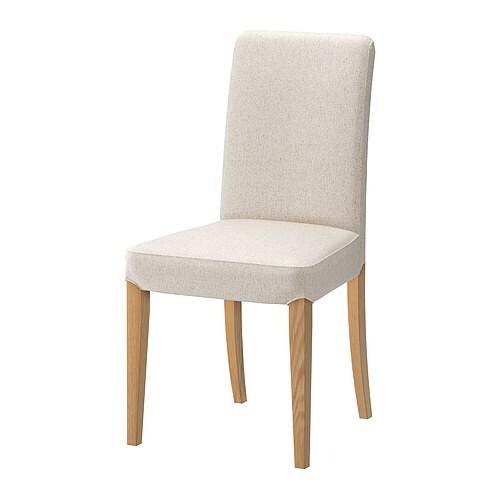 HENRIKSDAL Stol Linneryd natur, IKEA