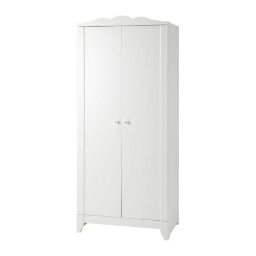 HENSVIK Klädskåp, vit Bredd: 75 cm Djup: 48 cm Höjd: 169 cm