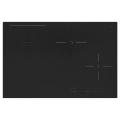 HÖGKLASSIG Induktionshäll med flex värmezoner, svart, 78 cm