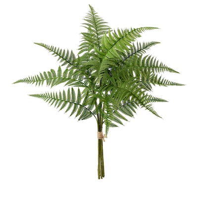 HÖSTKVÄLL Konstgjord bukett, inom-/utomhus/ormbunke grön, 44 cm