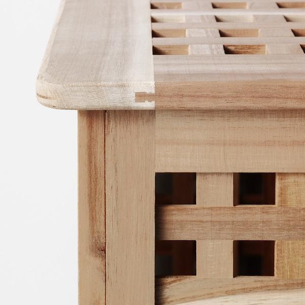 HOL Förvaringsbord, akacia, 98x50 cm