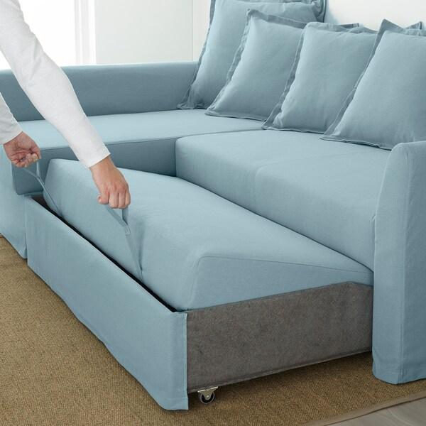 IKEA HOLMSUND Hörnbäddsoffa