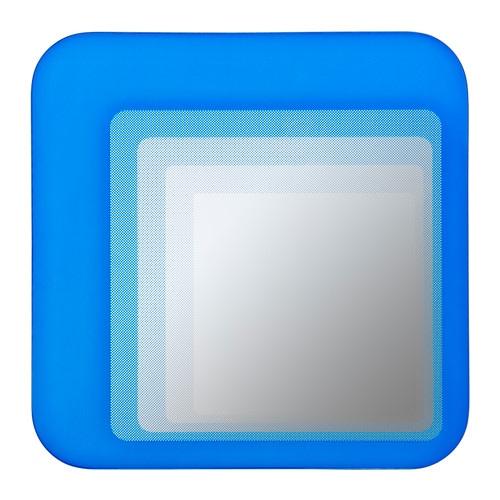 Ikea Dombas Wardrobe Closet ~ HYLKJE Spegel , klarblå Höjd 30 cm Bredd 30 cm