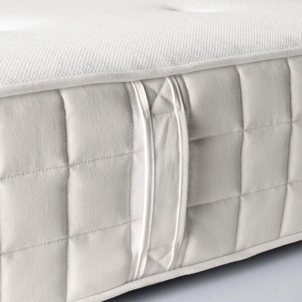 HYLLESTAD Pocketresårmadrass, medium fast/vit, 90x200 cm