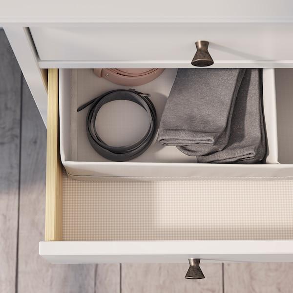 IDANÄS Byrå med 4 lådor, vit, 104x118 cm