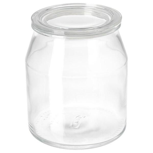 IKEA 365+ Lock, rund/glas