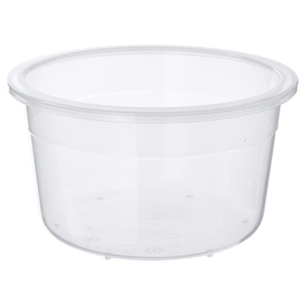 IKEA 365+ Matlåda, rund/plast, 750 ml