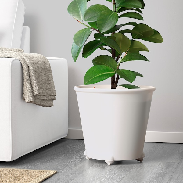 IKEA PS FEJÖ självbevattningskruka vit 35 cm 39 cm 32 cm 35 cm