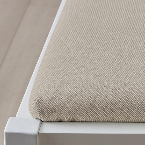 INGATORP / INGATORP Bord och 4 stolar, vit, 110/155 cm