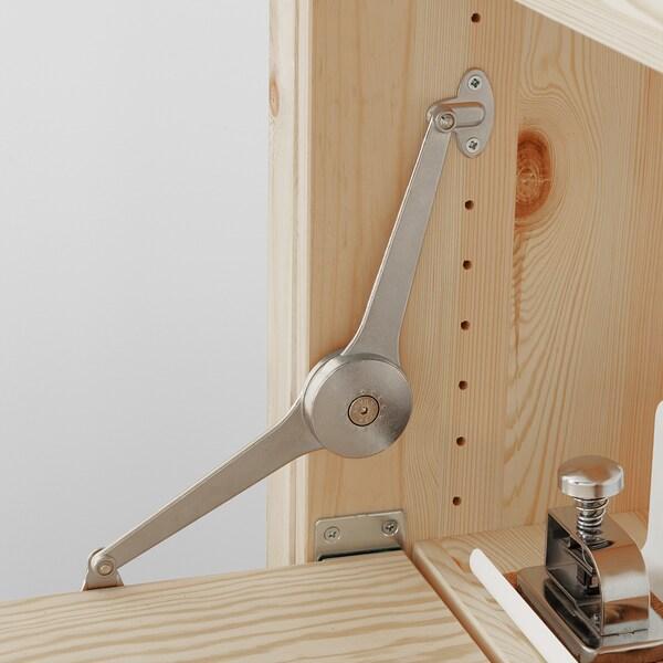 IVAR 1 sek/förvmöbel m fällbart bord, 89x30-104x179 cm