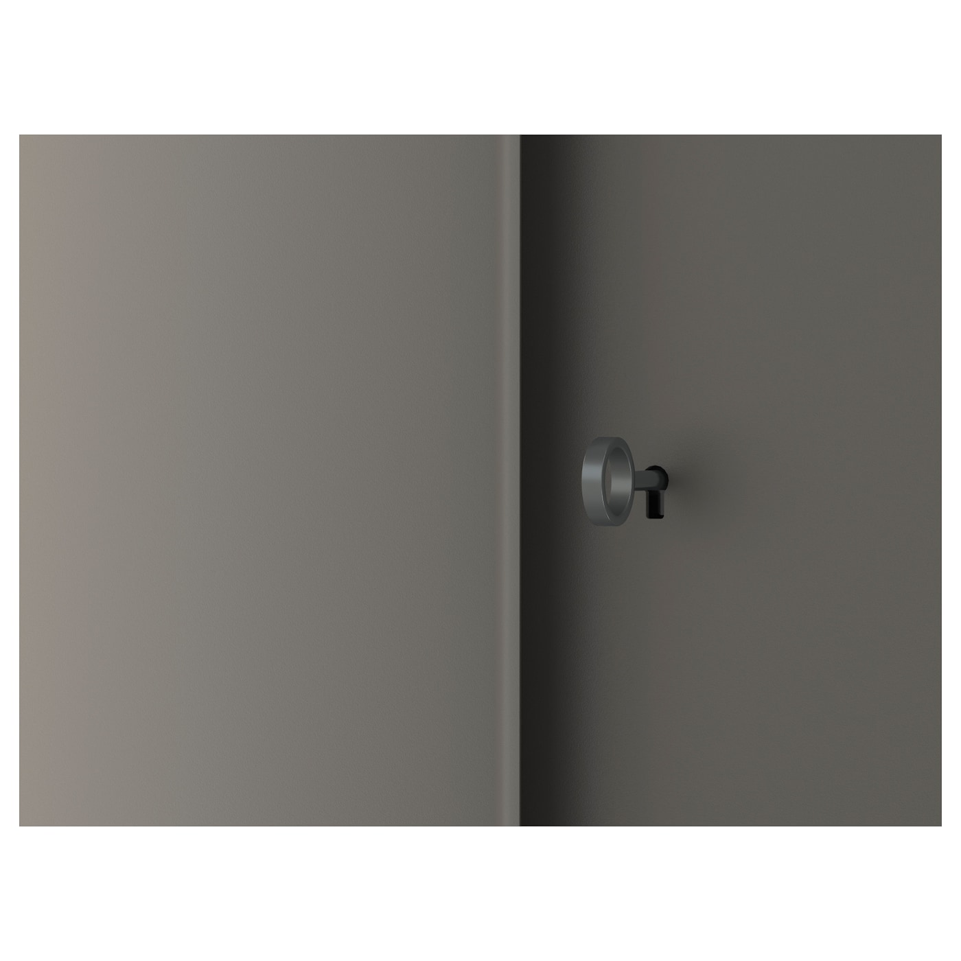 IVAR skåp med dörrar grå 80 cm 30 cm 83 cm 25 kg