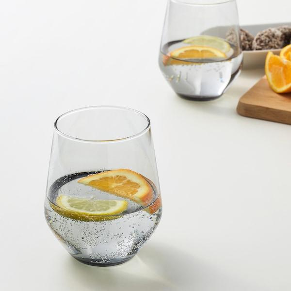 IVRIG glas grå 11 cm 45 cl 4 styck