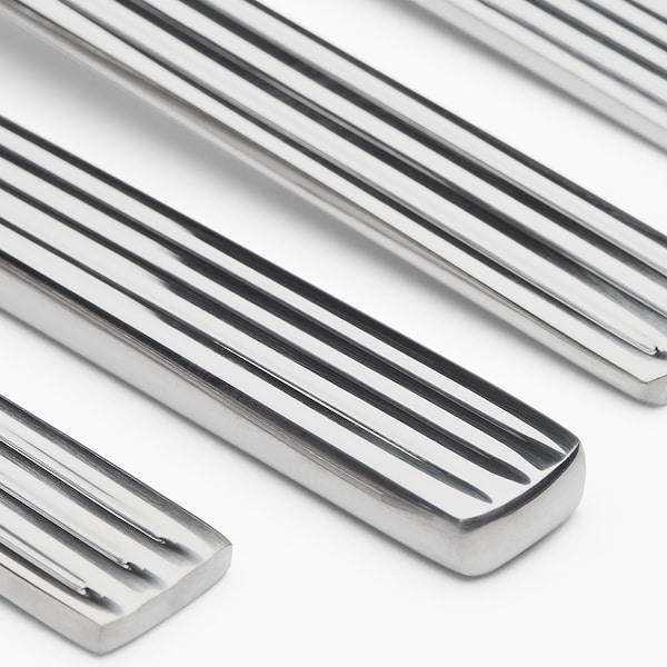 JUSTERA Bestick 24 delar, rostfritt stål
